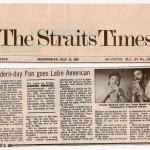 Singapur-The Strait Times